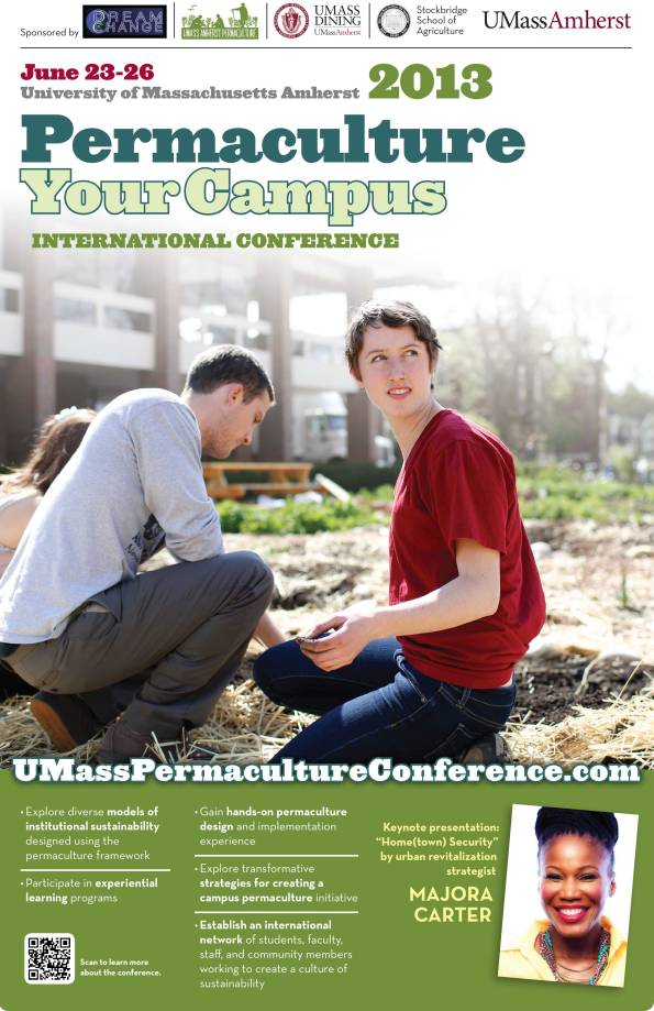Permaculture Your Campus Conference Flyer 2013